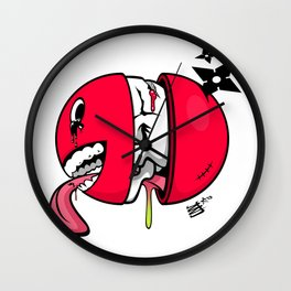 Substance by Jonny Haines Wall Clock