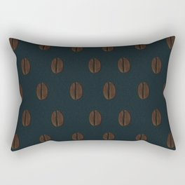 Ethiopian Coffee Bean Rectangular Pillow