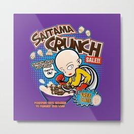 Saitama Crunch Metal Print