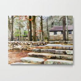 Cheaha State Park in The Fall Metal Print