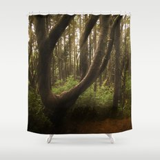 The Twisted Tree Shower Curtain