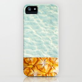 Pool and pineapple iPhone Case