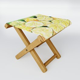 Limes and lemons Folding Stool