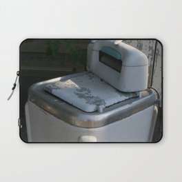 Vintage Washing Machine Laptop Sleeve