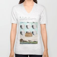 50th anniversary of the city of Brazil Unisex V-Neck