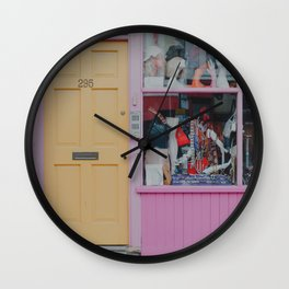 London colours Wall Clock