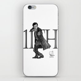 11th Doctor iPhone Skin