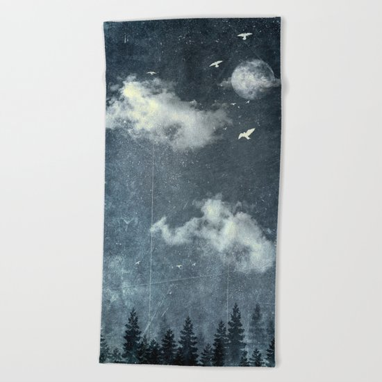 The cloud stealers Beach Towel