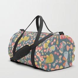 Butterfly Tango Dark Duffle Bag