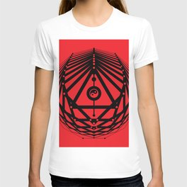Radiant Abundance (red-black) T-shirt