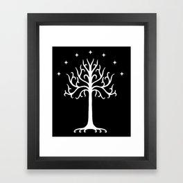 Tree(Gondor) Framed Art Print