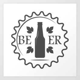 Beer style Fashion Modern Design Print! Art Print