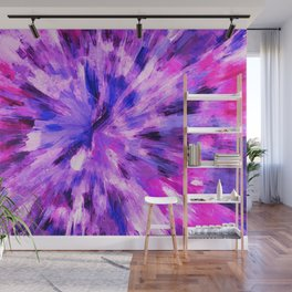 color explosion gogh pattern gomag Wall Mural