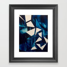 Spatial Geometry Framed Art Print