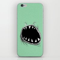 monster iPhone & iPod Skins featuring monster by Кaterina Кalinich