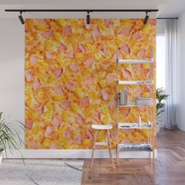 Pineapple Pizzas are People Too. Wall Mural
