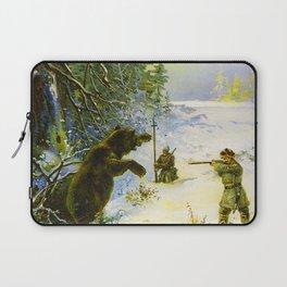 Vintage Russian Gunpowder Advertisement Laptop Sleeve