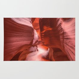 Path of Light - The Beauty of Antelope Canyon in Arizona Rug