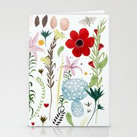 Stationery Cards featuring Freda by Danse de Lune