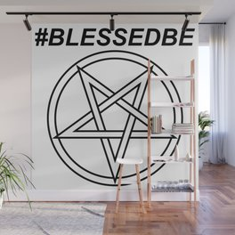 #BLESSEDBE INVERTED INVERSE Wall Mural