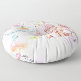 Unicorn Avalon Island Floor Pillow