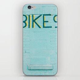 Bikes iPhone Skin