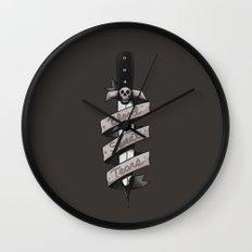 Blood, Sweat and Tears Wall Clock