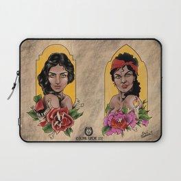 Lady Print Laptop Sleeve
