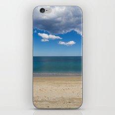 Stripes of blue iPhone Skin