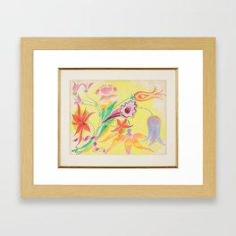 Floral Still Life, Isaac Grunewald, (1889-1946) impressionist 2 Framed Art Print