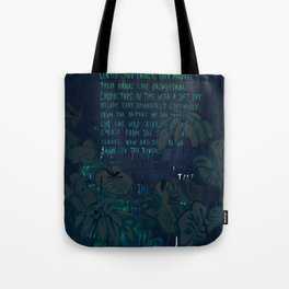 """""""Conquest of the Useless"""" by Werner Herzog Print (v. 8) Tote Bag"""