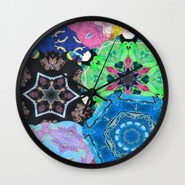 Colorful mandalas Wall Clock