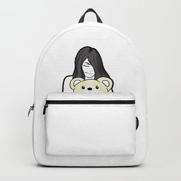 Naked Lady Teddy Bear Ageplay DDLG Daughter Girl Backpack