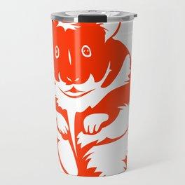 Abstract Hamster Travel Mug