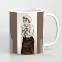 nurse Mugs featuring Nurse by CokecinL