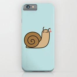 Cute snail iPhone Case
