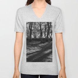 Railway Trees Unisex V-Neck