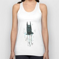 bat man Tank Tops featuring Bat man by McCoy