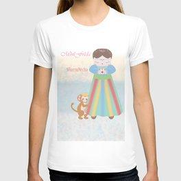 Fuerza Mexico by Mini Frida T-shirt