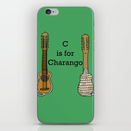 C is for Charango iPhone Skin