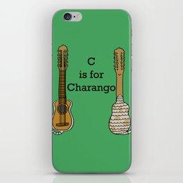 C is for Charango iPhone Skin