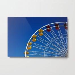 Color Wheel Metal Print