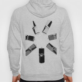Gives you Wings Black And White Hoody