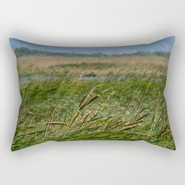 Beauty green landscape Rectangular Pillow