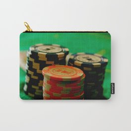 Casino Chips Stacks-Color Carry-All Pouch