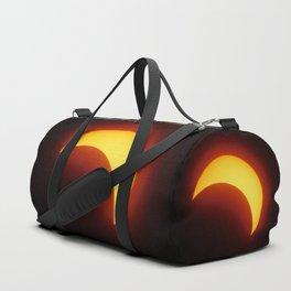 Partial Solar Eclipse Duffle Bag