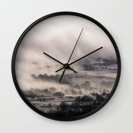 Edge of the World Wall Clock