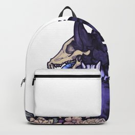 Blue wolf Backpack