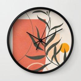 Geometric Modern Art 41 Wall Clock