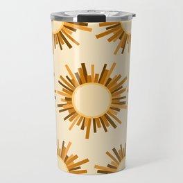 Art Deco Starburst Travel Mug